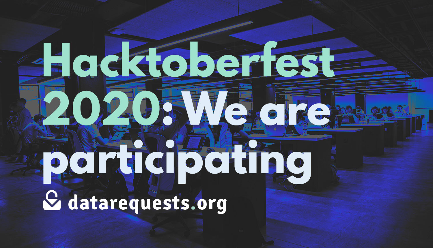 We are also participating in the Hacktoberfest 2020